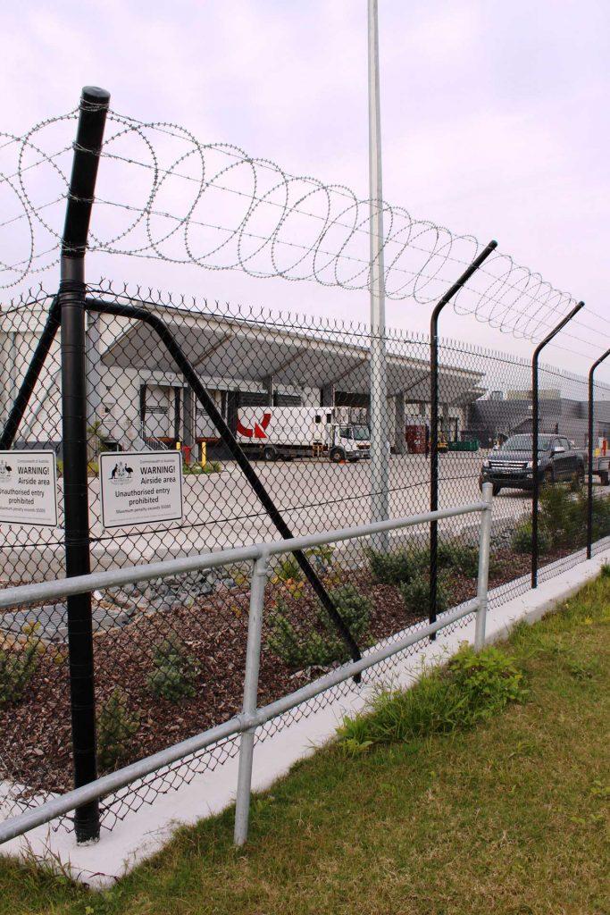 Razor Wire Security Boundary Fence