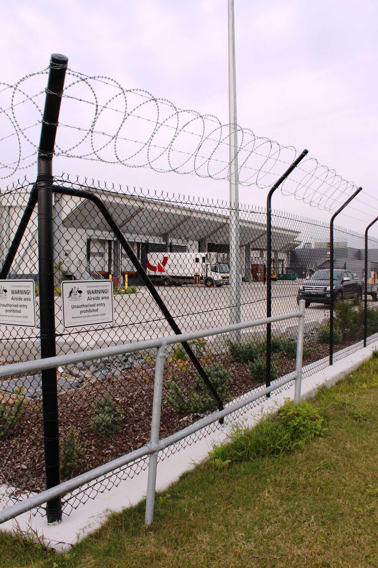 Security fencing