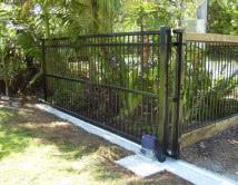 Aluminium Driveway Sliding Gate