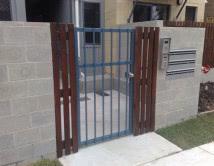 Aluminium Lockable Entry Single Gate