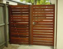 Balau Single Access Gate