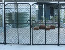 Chainwire PVC School Gates