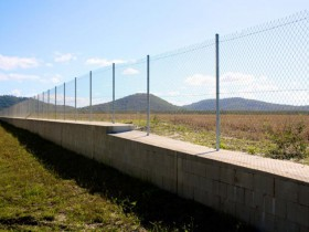 Coolum Eco Industrial Park Fencing