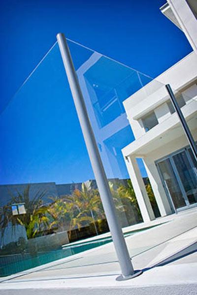 Semi Frameless Glass 10mm