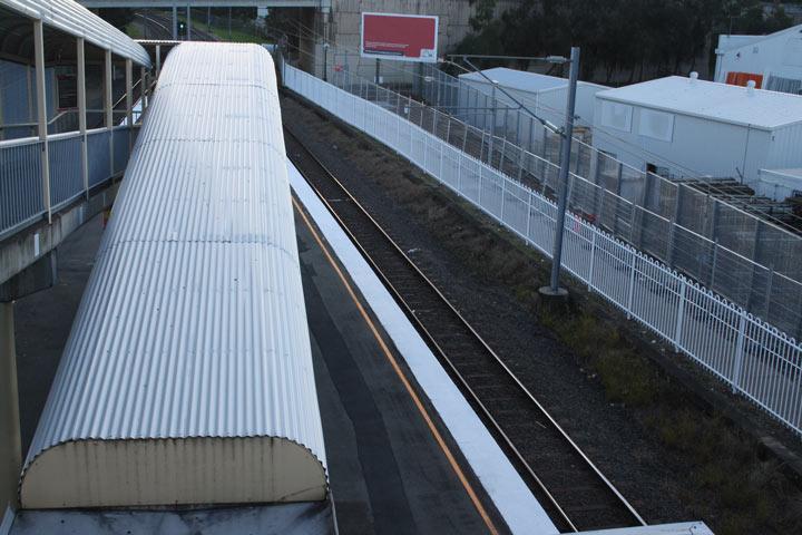 Enoggera Train Station Fencing