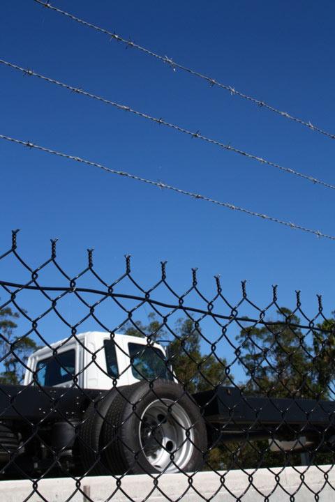 Fuso Trucks Forest Glen Fence