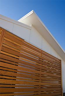 Balau Timber Fence