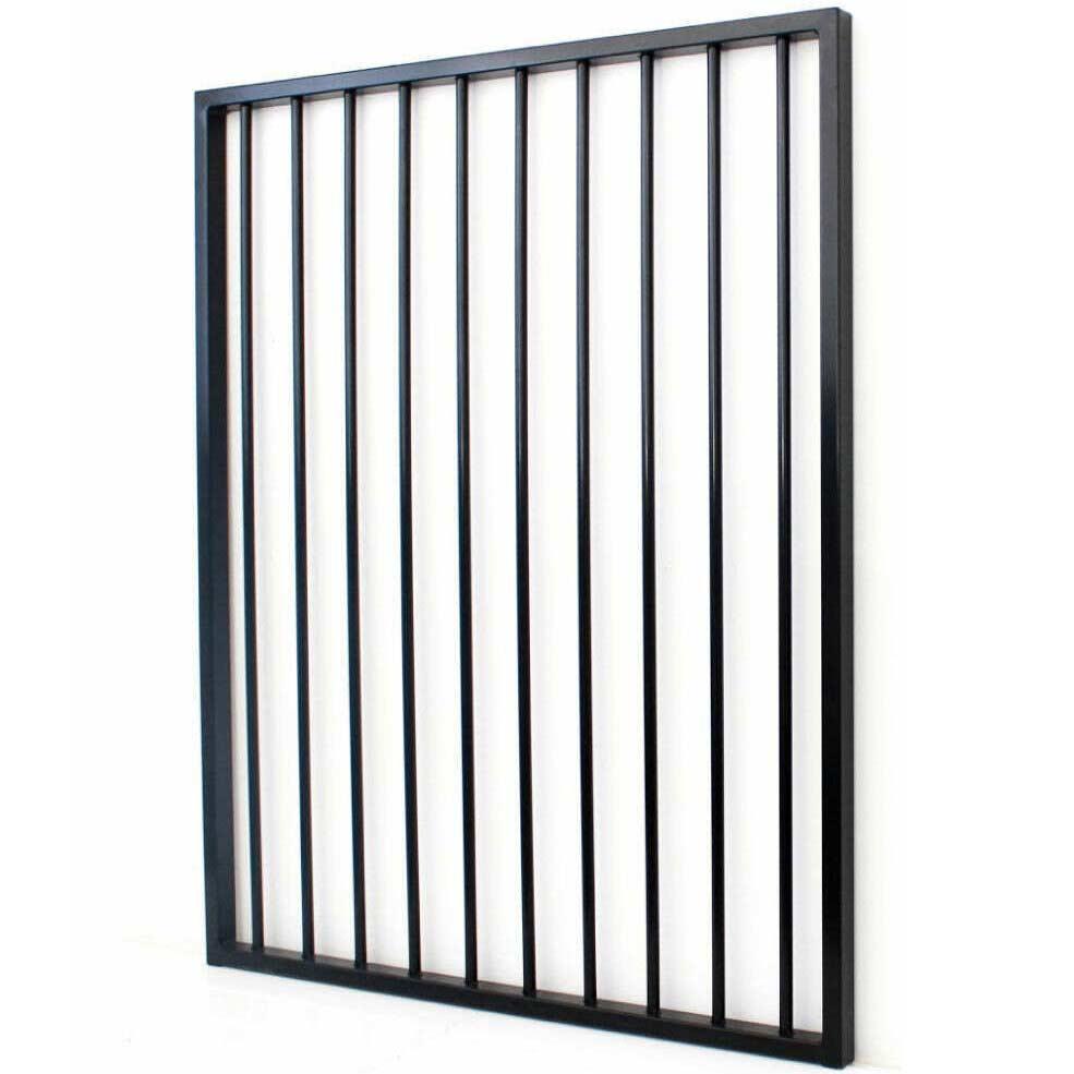 Black Aluminium Pool Gate