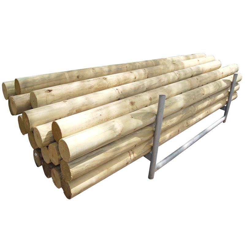 Precision Pine Logs 2.4 Metres
