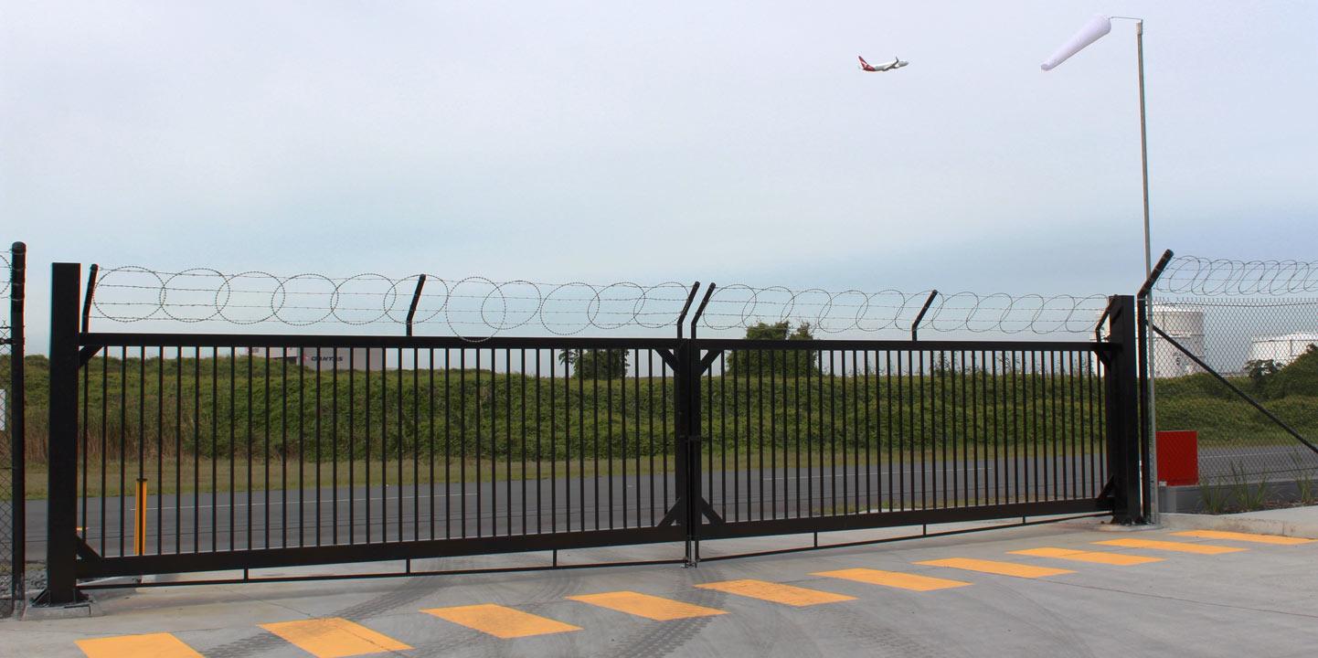 Qantas Catering Fencing Brisbane Airport Fencescape Fencing