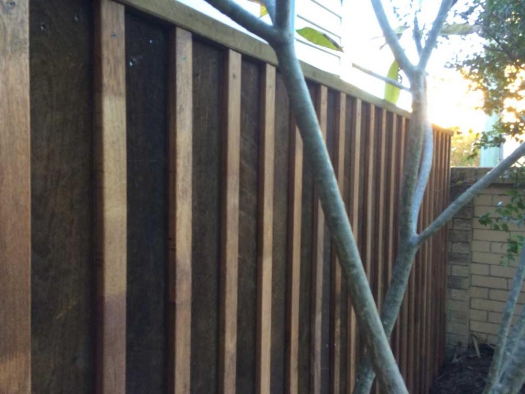 Hardwood Fence Paling Merbau Insert