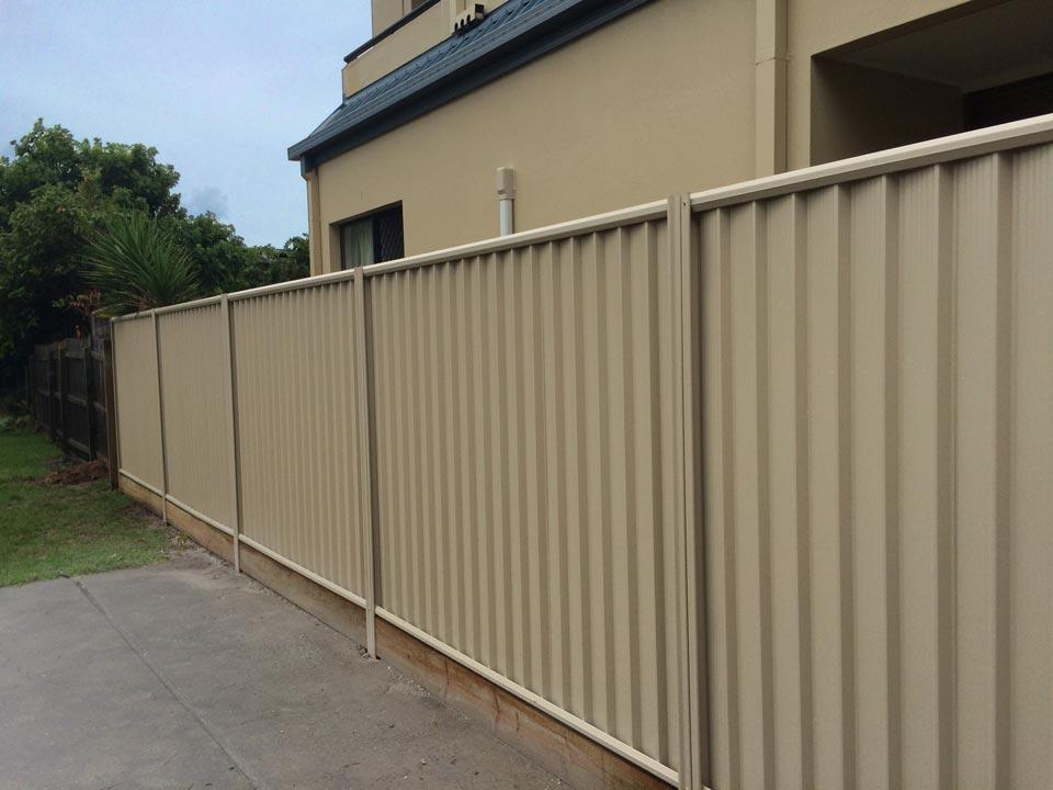 Labrador Colorbond Fence