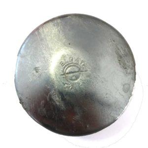Steel post caps