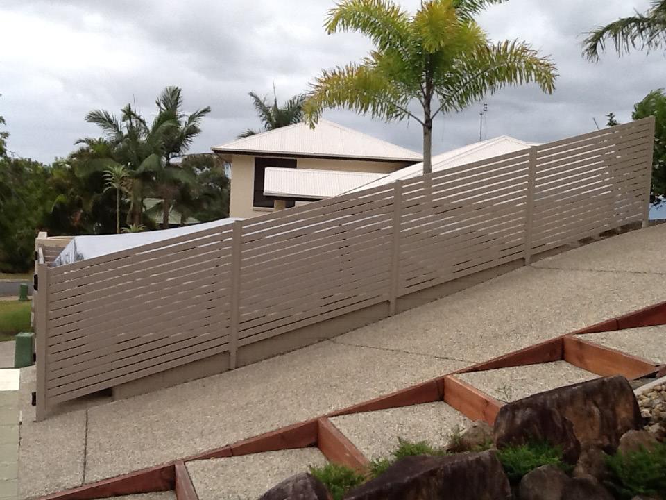 Aluminium slats